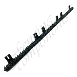 [1043] 1 Metre 6 Bracket - Nylon Gear Rack (with Metal Core)