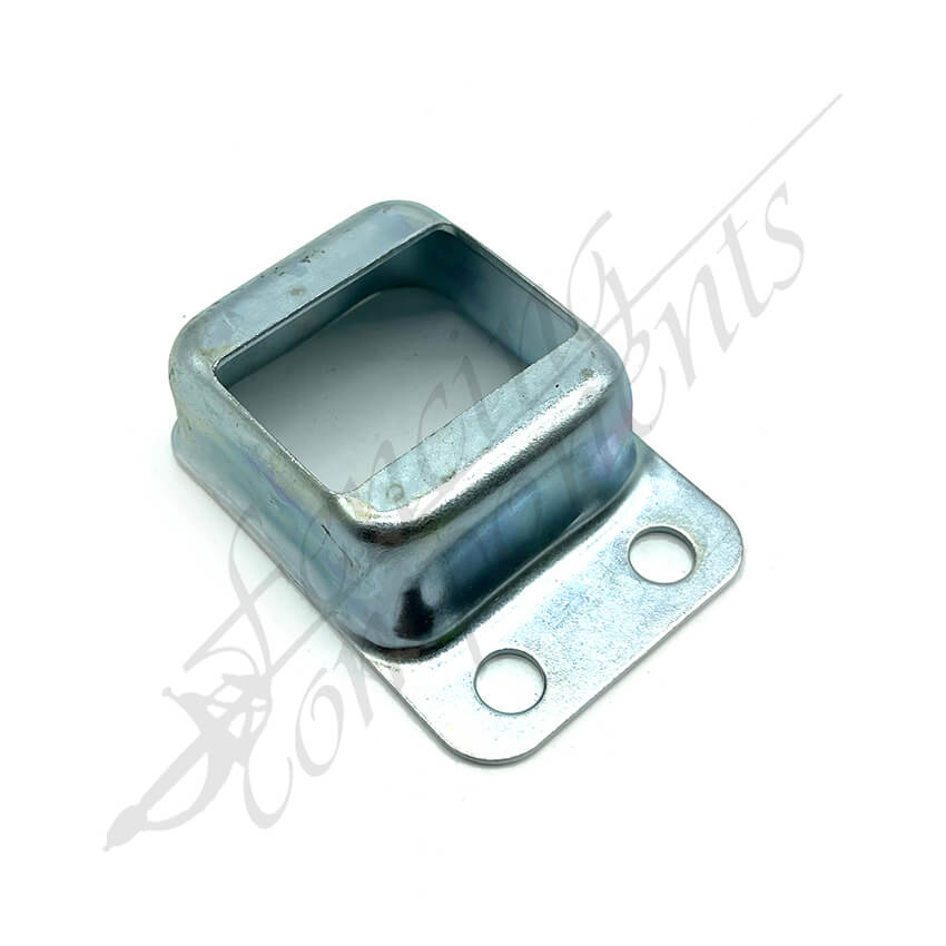 25x38 Single Side Fence Bracket Zinc