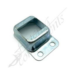 [3302NC] 25x38 Single Side Fence Bracket Zinc