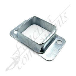 [3303NC] 40x40 Fence Bracket Double Sided Zinc Plated Zinc