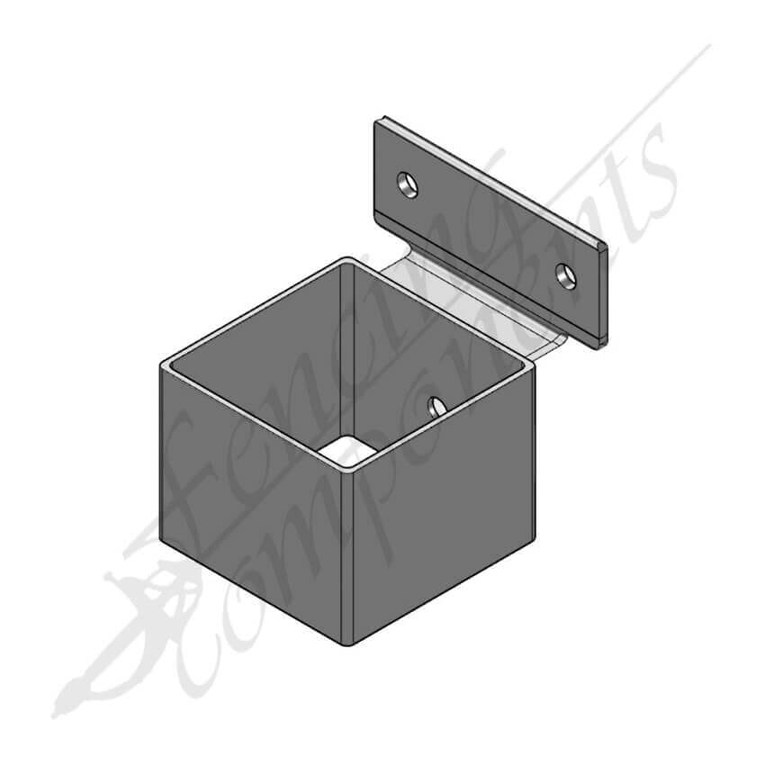 40x40 Security Bracket Hot Dip Gal