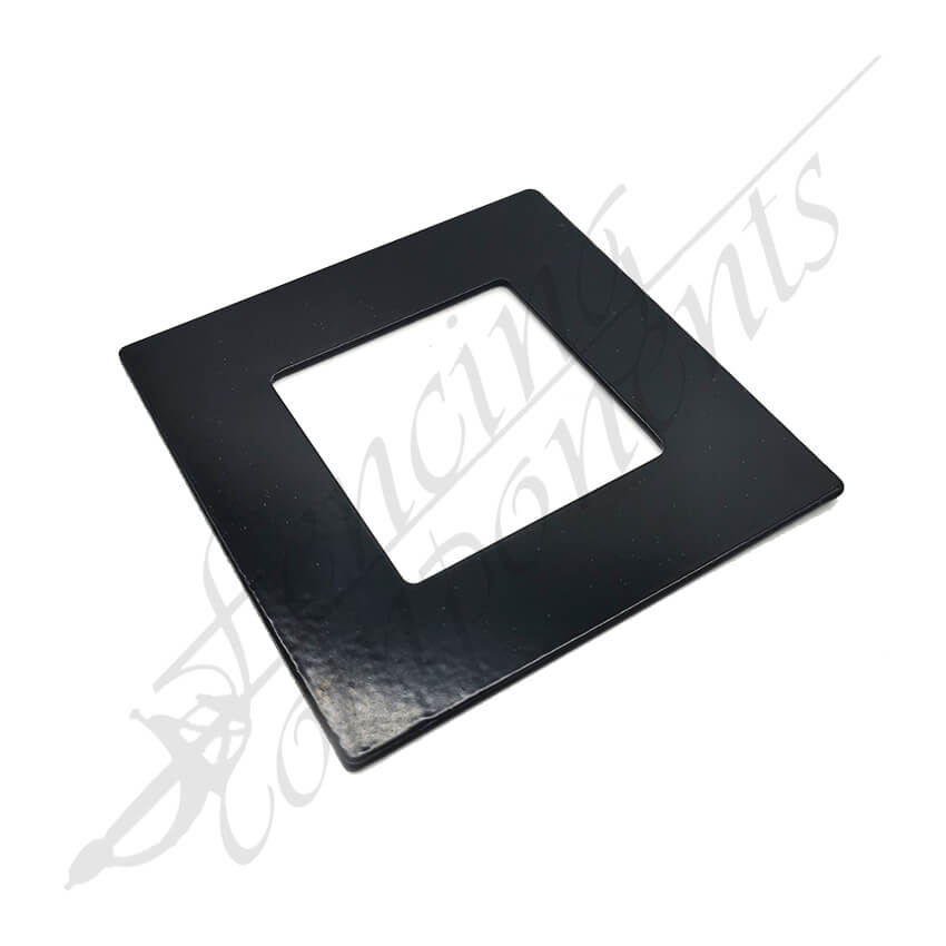 Aluminium Post Cover 50x50 FLAT (Black)