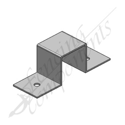 [8061GAL] Saddle Bracket 50x50mm Galvanized