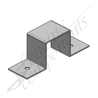 Saddle Bracket 65x65mm Galvanized