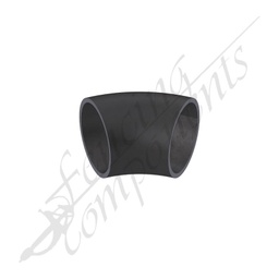 [EB2545-BS] Elbow Bend 25NB (33.4mm Outside) 45 Degrees Black Steel