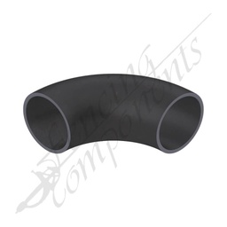 [EB2590-BS] Elbow Bend 25NB (33.4mm Outside) 90 Degrees Black Steel