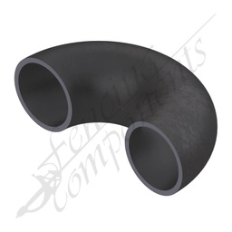 [EB40180-BS] Elbow Bend 40NB (48.6mm Outside) 180 Degrees Black steel