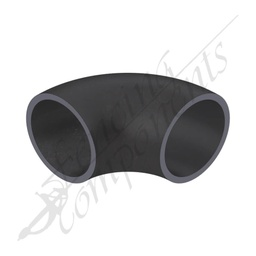 [EB4090-BS] Elbow Bend 40NB (48.6mm Outside) 90 Degrees Black Steel