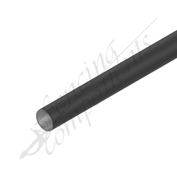 [GPRP256520-BLK] Round Pipe PDC BLACK XLT 25NB 2.0mm (33.7mm) 6.5Meter