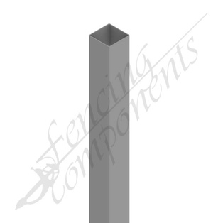 50x50x2400 2.4m Steel Post (Grey Ridge) #5