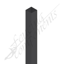 [PMON5024] 50x50x2400 2.4m Steel Post (Monument) #24