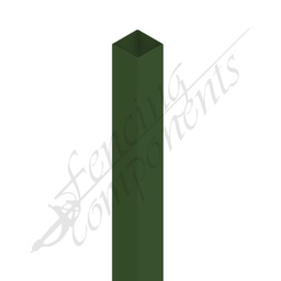 [PHGR6530] 65x65x3000 3.0m Steel Post (Heritage Green)