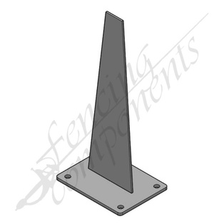Shark Fin Post Bracket (#8120)
