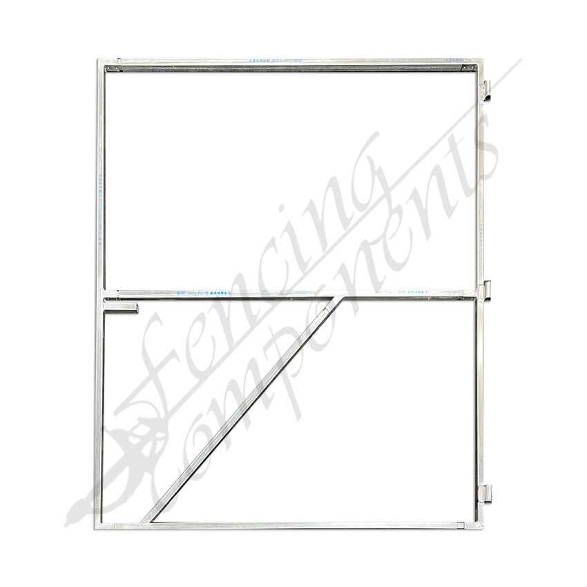 Gate Frame for Timber & Aluminium Slat